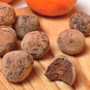 čokoládové truffles low carb