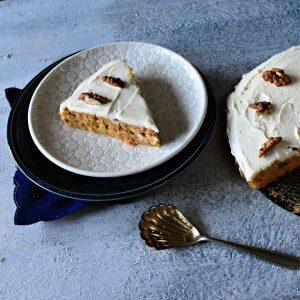 Mrkvový koláč low carb recept