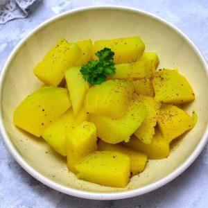 kedlubnové brambory recept