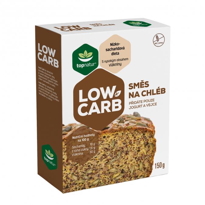 směs low carb na chléb topnatur